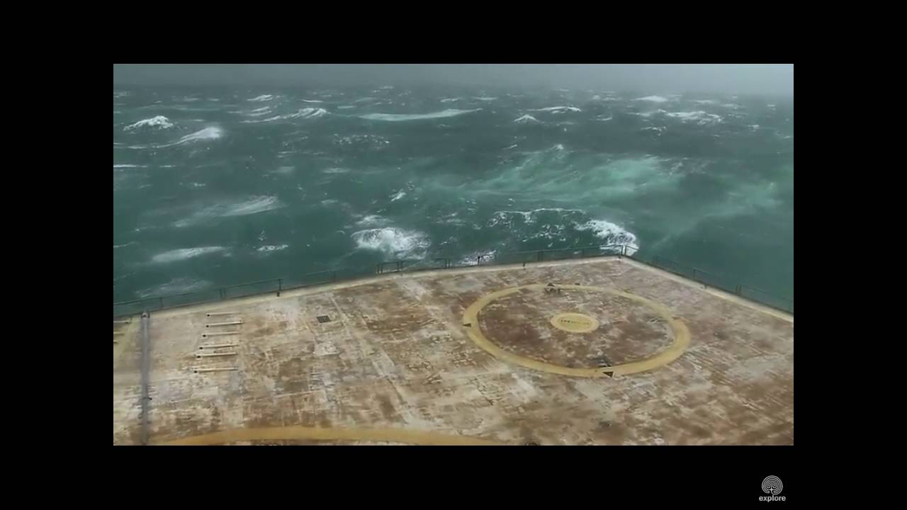 Hurricane Matthew Frying Pan Tower Cape Fear Nc 10 8