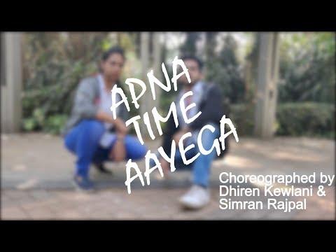 Apna Time Aayega Dance Coreography | Gully Boy | Ranveer Singh, Alia Bhatt, Divine ,Dub Sharma