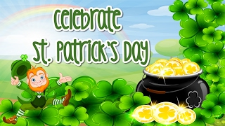 Celebrate st. patrick's daycelebrate day so you find pots of gold at the rainbow's end. count coins in each pot find.the first cou...