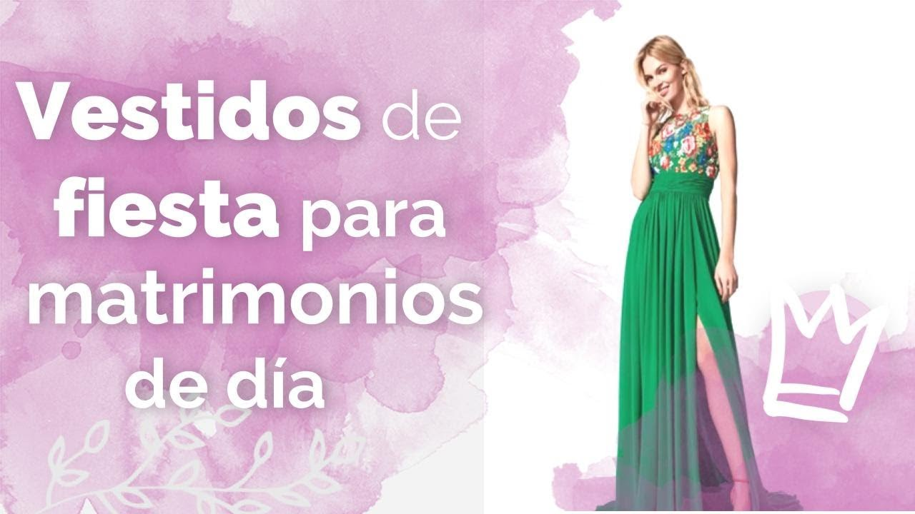 estilos de moda gran venta lo último 50 vestidos sencillos para matrimonio de día: ¡diseños que te ...