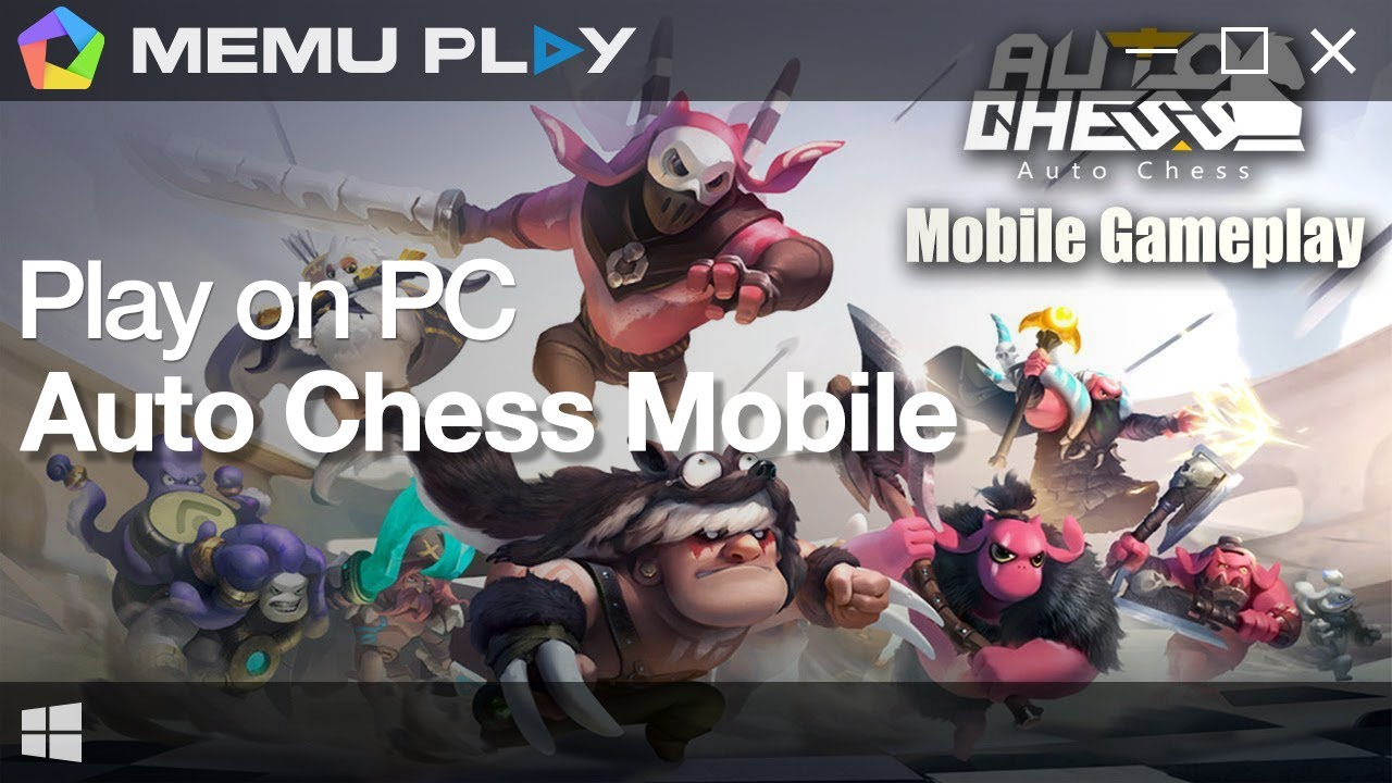 Download Auto Chess Mobile on PC with MEmu