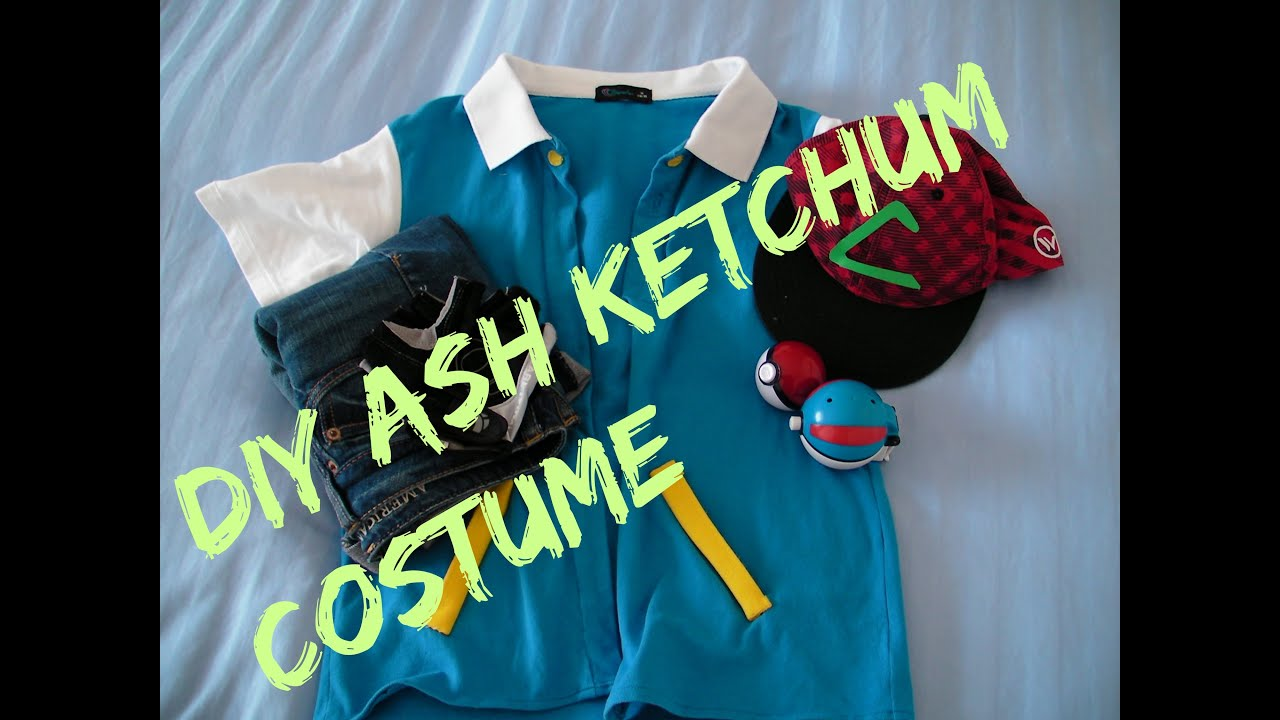 Diy ash ketchum costumecosplay jackieandtt youtube diy ash ketchum costumecosplay jackieandtt solutioingenieria