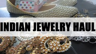 HUGE Indian Jewelry HAUL | keepingupwithmona