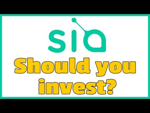 Siacoin Price Tumbling - Thoughts On It.