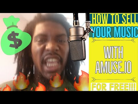 How to sell your music with amuse for free