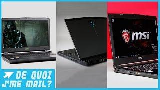 Quels sont les meilleurs PC portables Gaming du moment ? DQJMM (3/3)