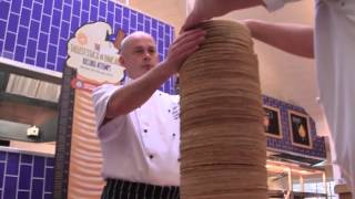 Tallest stack of pancakes: Center Parcs breaks Guinness World Records