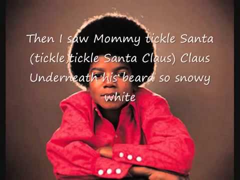 The Jackson 5 I saw Mommy kissing Santa Claus with lyrics