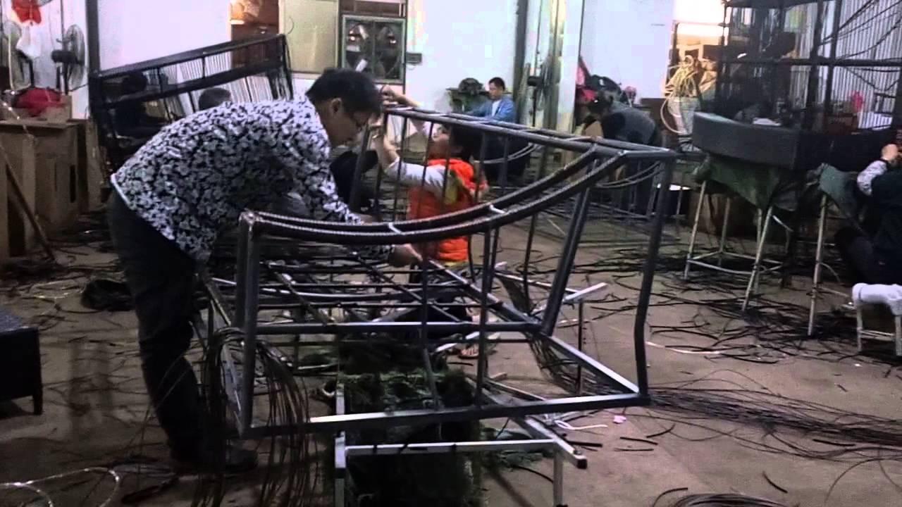 Manufacturing Outdoor Rattan Furniture