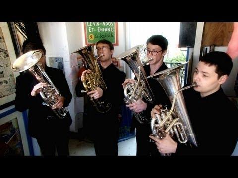 Opus 333, quatuor de saxhorns - Wagner / Alonso - 59 rue Rivoli