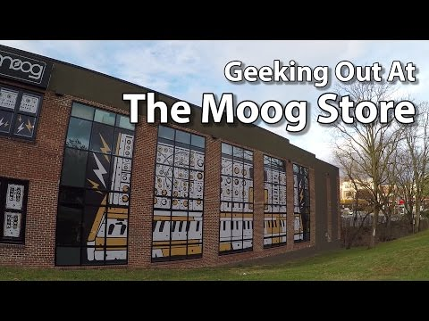 Geeking Out at The Moog Store in Asheville, NC