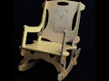 Customizable Kids Rocking Chair