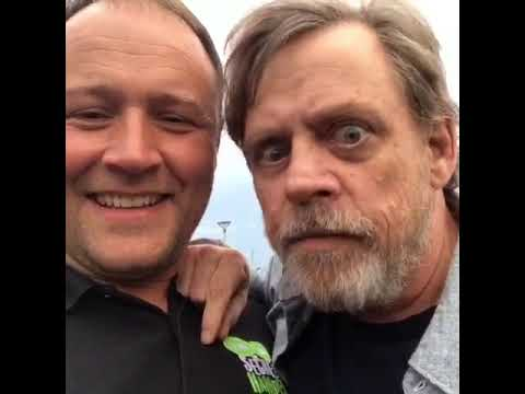 Secret Hamper meets Luke Skywalker