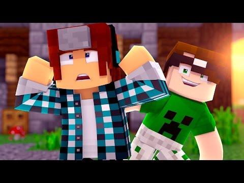 Minecraft : ME AJUDEM A ENCONTRAR O BOTÃO !! (c/Mike) - Видео из Майнкрафт (Minecraft)