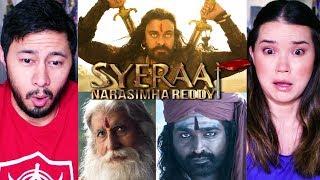 SYE RAA NARASIMHA REDDY | Chiranjeevi | Amitabh Bachchan | Vijay Sethupathi | Teaser Reaction! Video