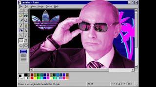 В.В Путин установил программы на компьютер