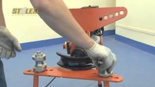 Гидравлический трубогиб с электроприводом(Трубогиб электромеханический гидравлический Stalex EHB-10 для строительных и ремонтных работ, производства..., 2013-11-18T14:45:55.000Z)