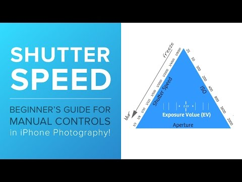 A Beginner's Guide for Manual Controls in iPhone Photography: Shutter Speed
