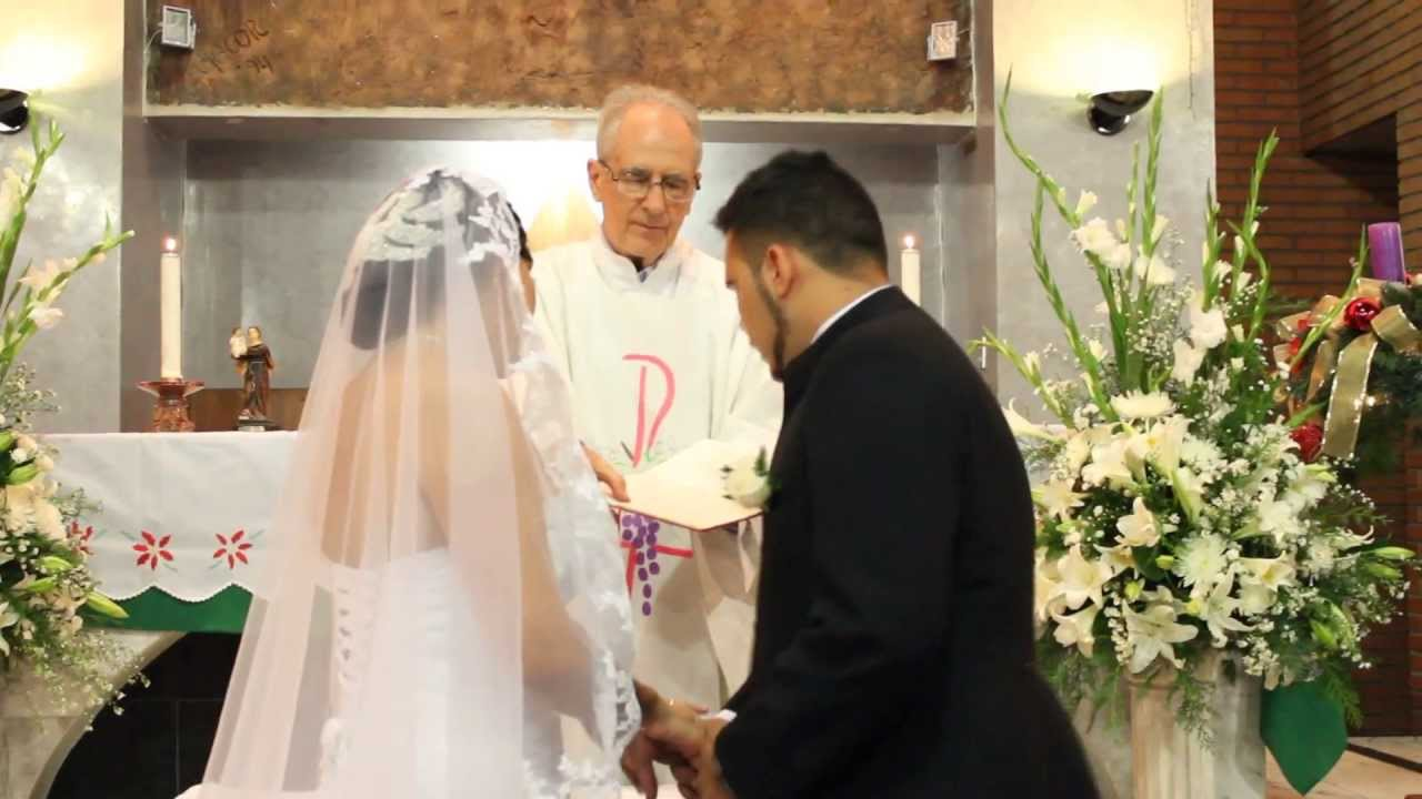 Matrimonio Catolico Legal : Boda eclesiástica youtube