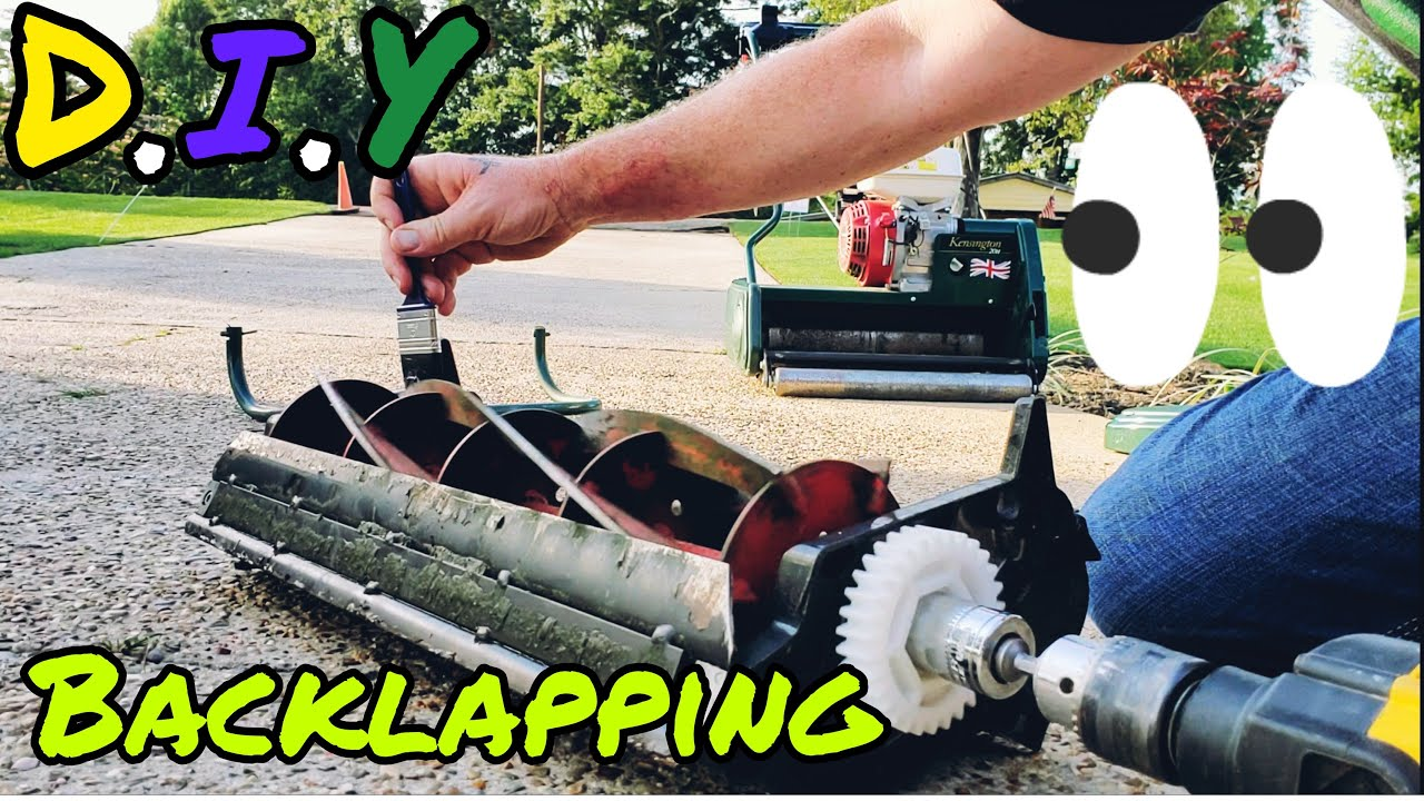 How To Sharpen a Reel Mower