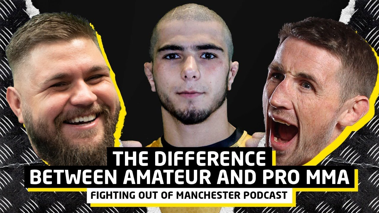 The Difference Between Amateur and Pro MMA! | Fighting Out Of Manchester