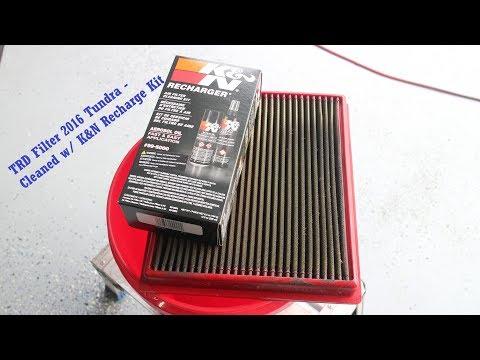 Cleaning K&N Style Filters - K&N Recharge kit