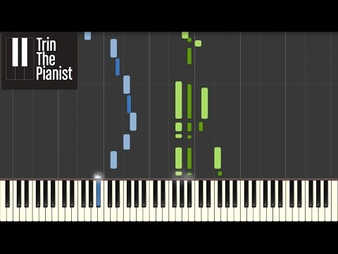 James Bond Theme - Piano tutorial (Synthesia) + Sheets