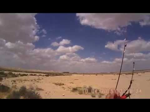 kite buggy in Ashalim