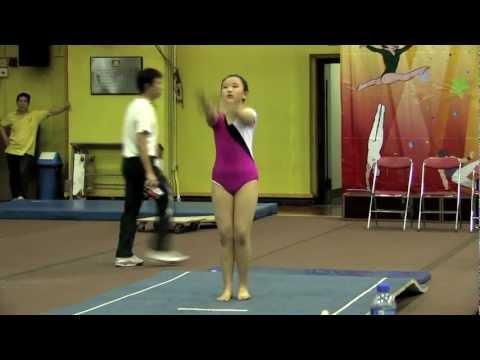2011全港小學體操邀請賽 女子自由體操 41 ▶1:13