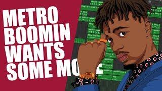 How METRO BOOMIN Makes Dark Trap Beats
