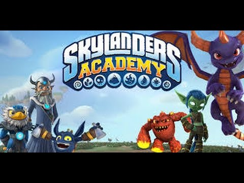 Skylanders Academy theme song hand drawn parody