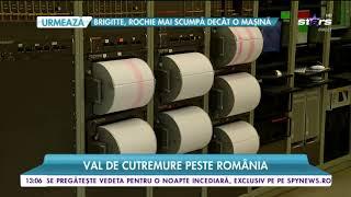 Un val de cutremure lovește România, un nou seism a lovit țara noastră