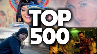 Top 500 Songs of All Time - Updated 2018