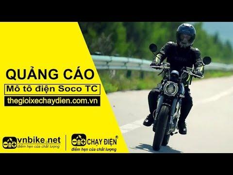Quảng cáo mô tô điện Soco TC