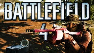 Battlefield 4 Online Funny Moments - Pink Gun Glitch & Sniper King! (I Can't Wait for BF: Hardline!)
