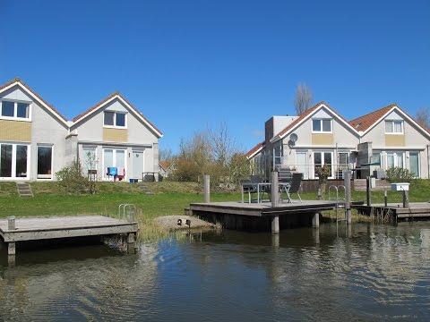 Ferienhaus am IJsselmeer mit Sauna in Holland