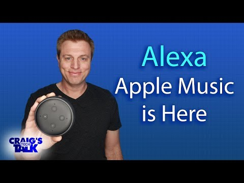 Amazon Alexa and Apple Music - Now on the Echo Mp3