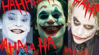 The Evolution Of The Joker - Movie Timeline