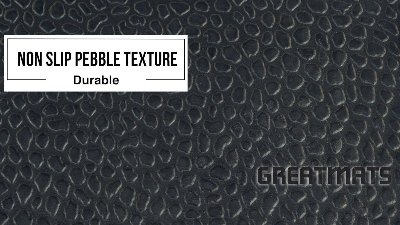 introducing gym floor tile pebble top 3 4 inch super high density foam greatmats youtube. Black Bedroom Furniture Sets. Home Design Ideas
