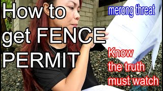 HOW TO GET A FENCING PERMIT IN THE PHILIPPINES LAPU LAPU CITY YOU MUST KNOW THE TRUTH!