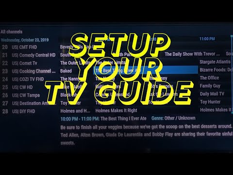 Configure TV Guide For The FreeStream MAX