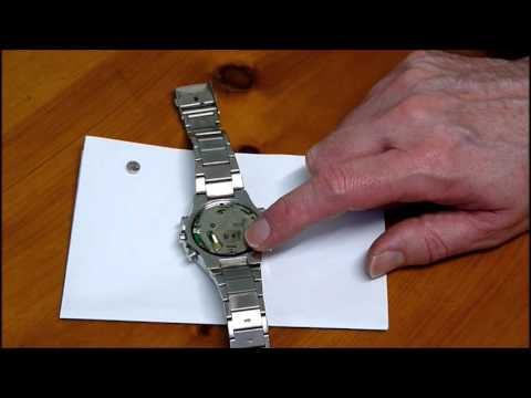 How to replace Pulsar NX-11 or NX-14 watch battery