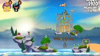 Angry Birds Seasons Summer Camp 1-2
