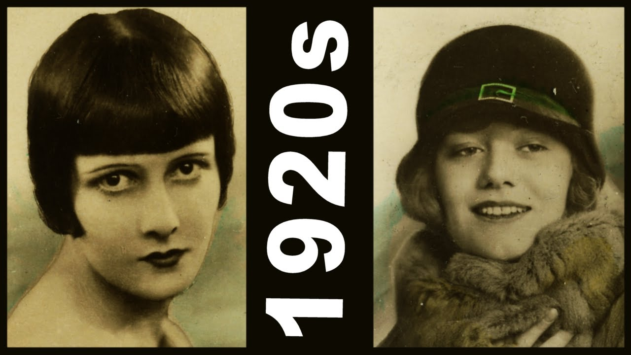3f0fd98fc22 Shocking 1920 s Flappers - What is Beauty  Fashion Hair Bob Hairstyle  Cloche Hat Cigarette Cards - YouTube