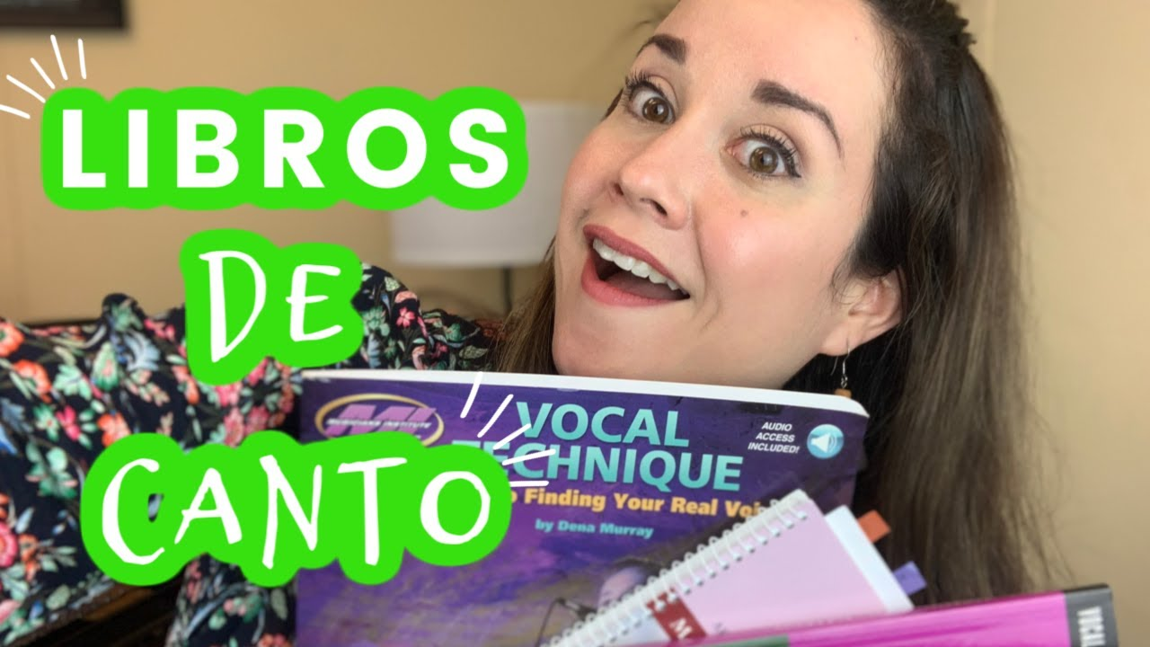 LIBROS DE CANTO | Dra. Voz