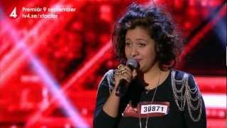 Audition: Kristin Amparo i X Factor (TV4)