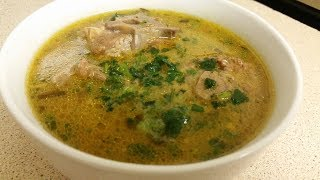 LAMB NECK SOUP||RECIPE||PERFECT FOR WINTER / COLD / FLU|| YUMMY, TASTY, EASY, QUICK