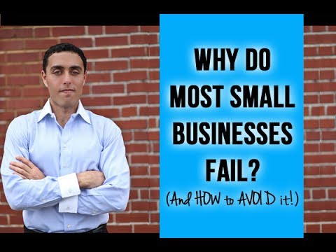 why do small businesses fail and 6 reasons your small business will fail that begin prior to startup and continue throughout the life of the business hear more on why startups fail with.