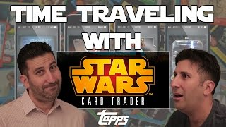 Meeting My Younger Self!! Topps Star Wars Card Trader App