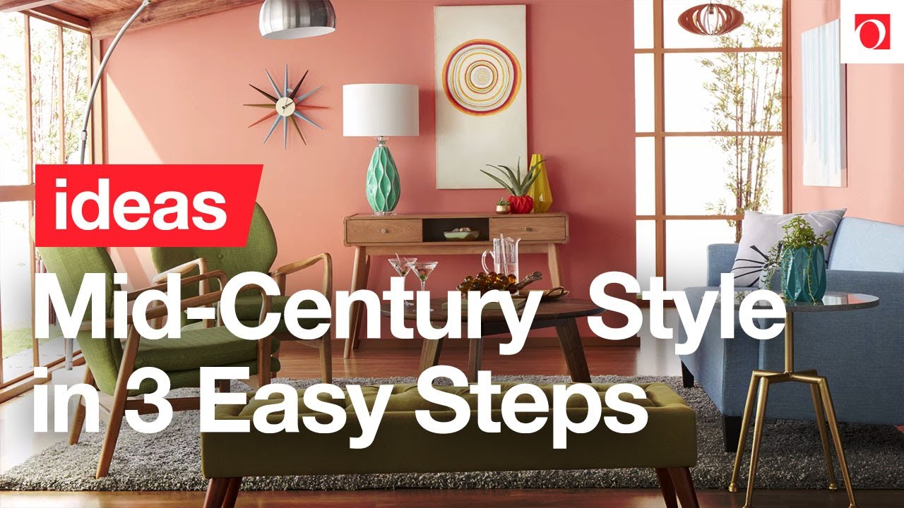 3 Ways to Go Mad for Mid-Century Modern – Overstock.com - YouTube